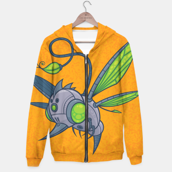 Miniatur HUMM-BUZZ Pollination Drone Hoodie, Live Heroes