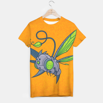 Miniatur HUMM-BUZZ Pollination Drone T-shirt, Live Heroes