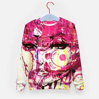 Thumbnail image of Alien Kid's Sweater, Live Heroes