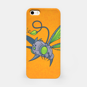 Miniatur HUMM-BUZZ Pollination Drone iPhone Case, Live Heroes
