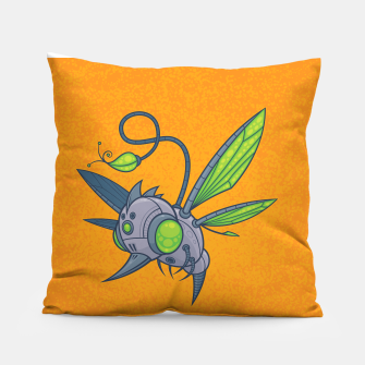 Miniatur HUMM-BUZZ Pollination Drone Pillow, Live Heroes
