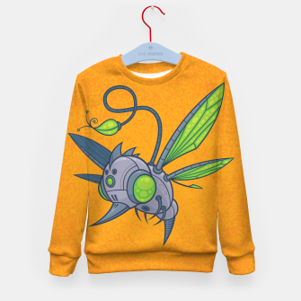 Miniatur HUMM-BUZZ Pollination Drone Kid's Sweater, Live Heroes