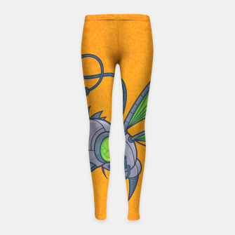 Miniatur HUMM-BUZZ Pollination Drone Girl's Leggings, Live Heroes