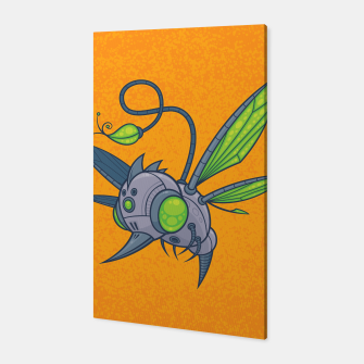 Miniatur HUMM-BUZZ Pollination Drone Canvas, Live Heroes