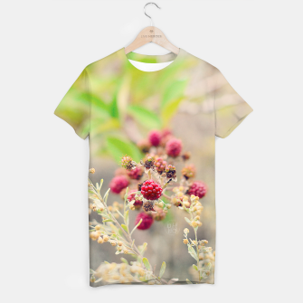 Imagen en miniatura de Red blackberries Camiseta, Live Heroes