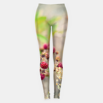 Imagen en miniatura de Red blackberries Leggings, Live Heroes