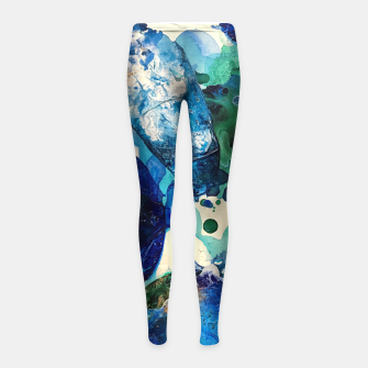 Thumbnail image of The Wonders of the World, Tiny World Collection Girl's Leggings, Live Heroes
