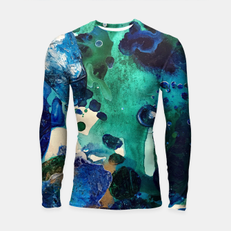 Thumbnail image of The Wonders of the World, Tiny World Collection Longsleeve Rashguard , Live Heroes