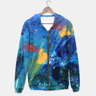 Thumbnail image of Views of Rainbow Coral, Tiny World Collection Hoodie, Live Heroes