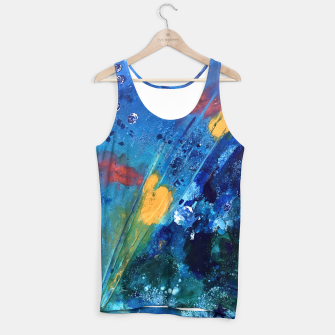 Thumbnail image of Views of Rainbow Coral, Tiny World Collection Tank Top, Live Heroes