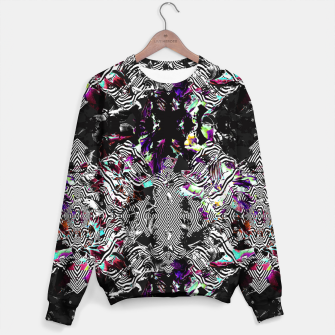 Miniaturka Strokes and abstract shapes on lines Sudadera, Live Heroes