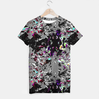 Miniaturka Strokes and abstract shapes on lines Camiseta, Live Heroes