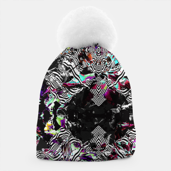 Miniaturka Strokes and abstract shapes on lines Gorro, Live Heroes
