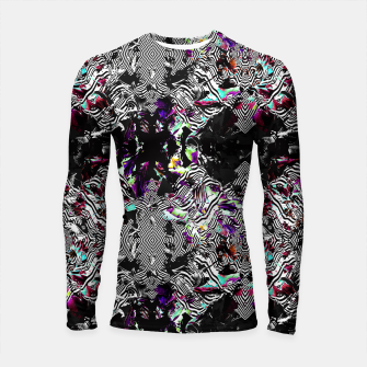 Miniaturka Strokes and abstract shapes on lines Longsleeve Rashguard, Live Heroes