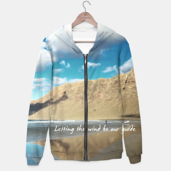 Imagen en miniatura de Letting the wind be our guide Sudadera con capucha, Live Heroes