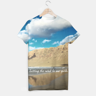 Imagen en miniatura de Letting the wind be our guide Camiseta, Live Heroes