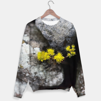 Thumbnail image of Yellow little flowers Sudadera, Live Heroes