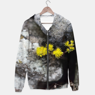 Thumbnail image of Yellow little flowers Sudadera con capucha, Live Heroes