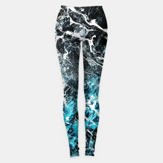 Miniature de image de The cold frozen waves Leggings, Live Heroes