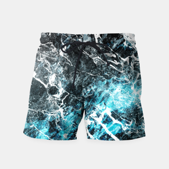 Thumbnail image of The cold frozen waves Swim Shorts, Live Heroes
