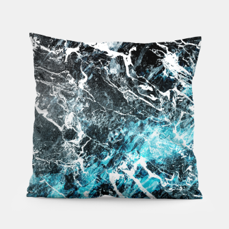 Thumbnail image of The cold frozen waves Pillow, Live Heroes
