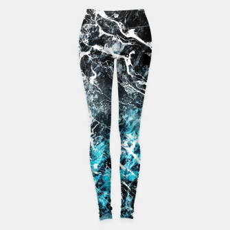 Miniatur The cold frozen waves Leggings, Live Heroes