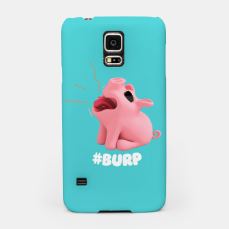 Thumbnail image of Rosa the Pig Burp Blue Samsung Case, Live Heroes
