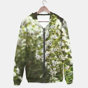 Thumbnail image of White flowers Sudadera con capucha, Live Heroes