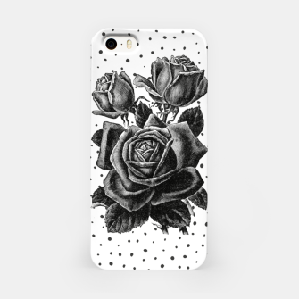Thumbnail image of Vintage rose with black and white dots, Live Heroes