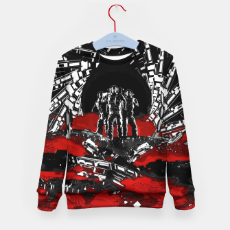 Thumbnail image of Astro Raiders Kid's Sweater, Live Heroes