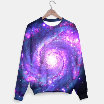 Ultra Violet Whirlpool Galaxy Sweater thumbnail image