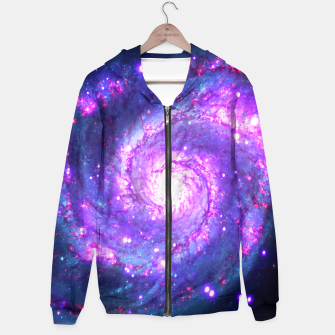 Ultra Violet Whirlpool Galaxy Hoodie thumbnail image