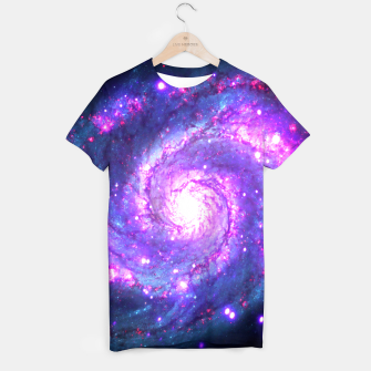 Ultra Violet Whirlpool Galaxy T-shirt thumbnail image