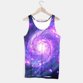 Ultra Violet Whirlpool Galaxy Tank Top thumbnail image