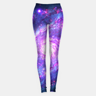 Ultra Violet Whirlpool Galaxy Leggings thumbnail image
