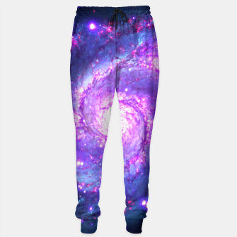 Ultra Violet Whirlpool Galaxy Sweatpants thumbnail image