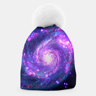 Ultra Violet Whirlpool Galaxy Beanie thumbnail image