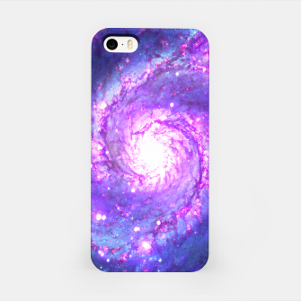 Ultra Violet Whirlpool Galaxy iPhone Case obraz miniatury
