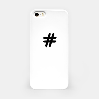 Thumbnail image of HashTag_iPhone_Case_White, Live Heroes