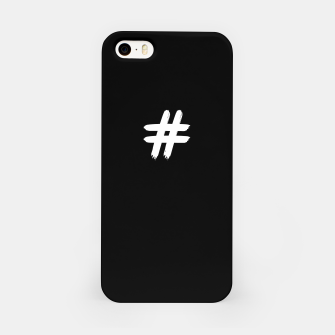 Thumbnail image of HashTag_iPhone_Case_Black, Live Heroes
