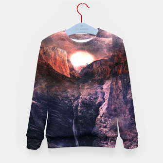 Thumbnail image of Space Sommer Kid's Sweater, Live Heroes
