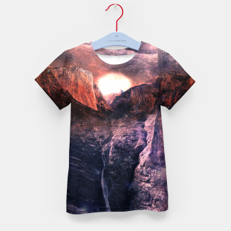 Thumbnail image of Space Sommer Kid's T-shirt, Live Heroes