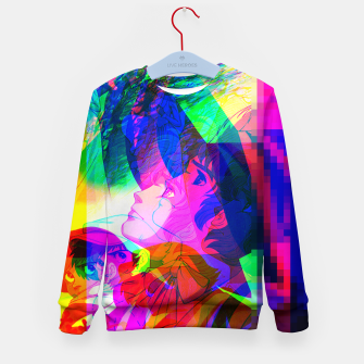 Thumbnail image of Nobodys Boy Remi Glitch Version Kid's Sweater, Live Heroes