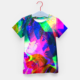 Thumbnail image of Nobodys Boy Remi Glitch Version Kid's T-shirt, Live Heroes