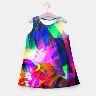 Thumbnail image of Nobodys Boy Remi Glitch Version Girl's Summer Dress, Live Heroes