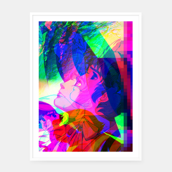 Thumbnail image of Nobodys Boy Remi Glitch Version Framed poster, Live Heroes