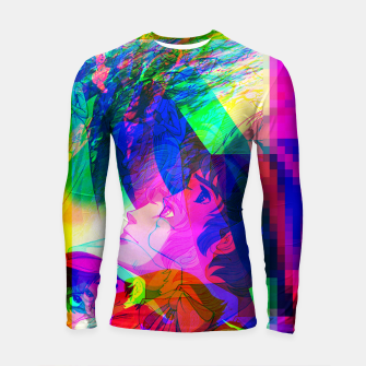 Thumbnail image of Nobodys Boy Remi Glitch Version Longsleeve Rashguard , Live Heroes