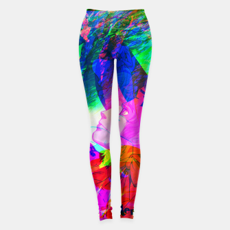 Thumbnail image of Nobodys Boy Remi Glitch Version Leggings, Live Heroes
