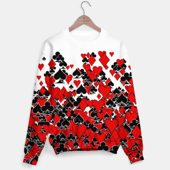 Thumbnail image of Poker Star Sweater, Live Heroes