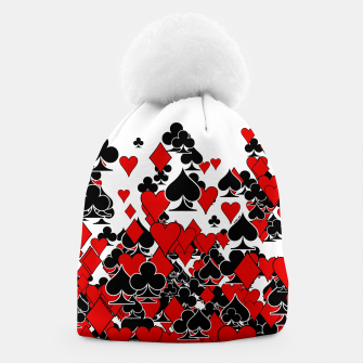 Thumbnail image of Poker Star Beanie, Live Heroes